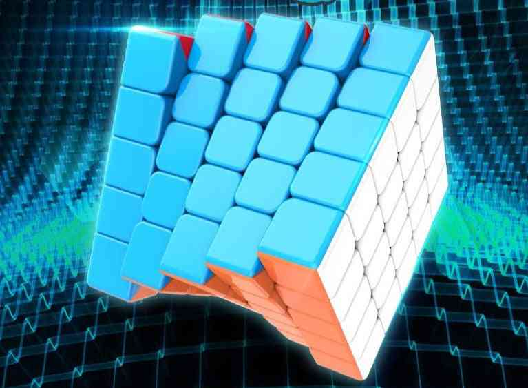 5x5x5 Magic Cube Layers - Educational 5x5 Speed Puzzle Cubes Toy