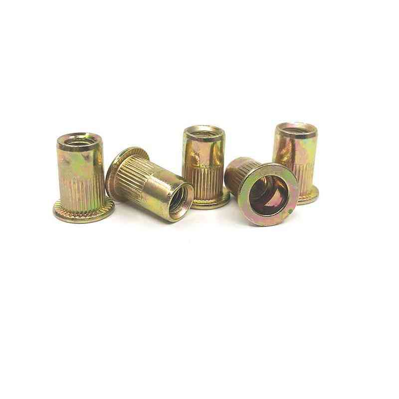High Quality Zinc Plated Threaded Hollow Rivets