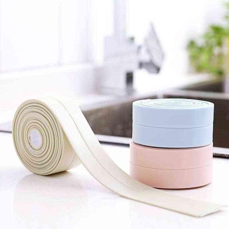 Pvc Self Adhesive Waterproof - Shower, Sink Sealing Strip Tape