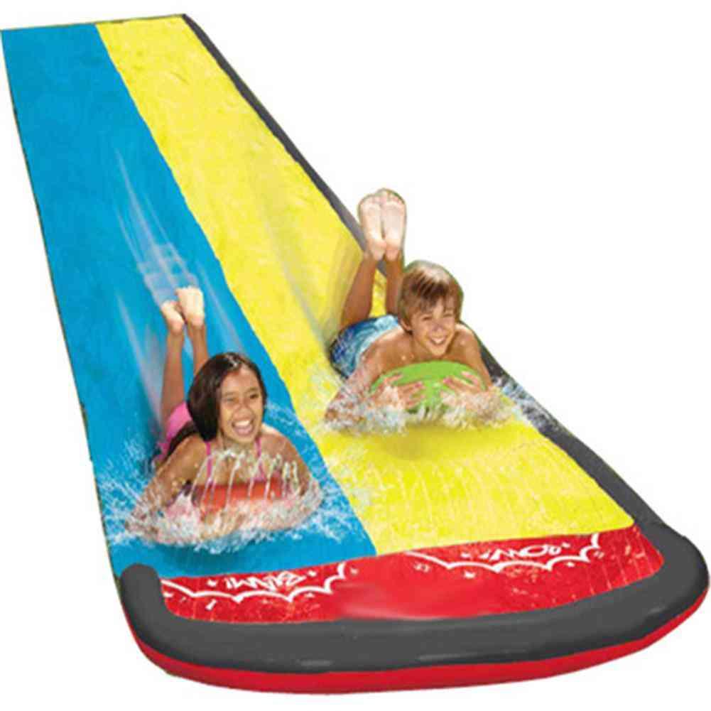Water Slide Surfboards Sprinker Pool