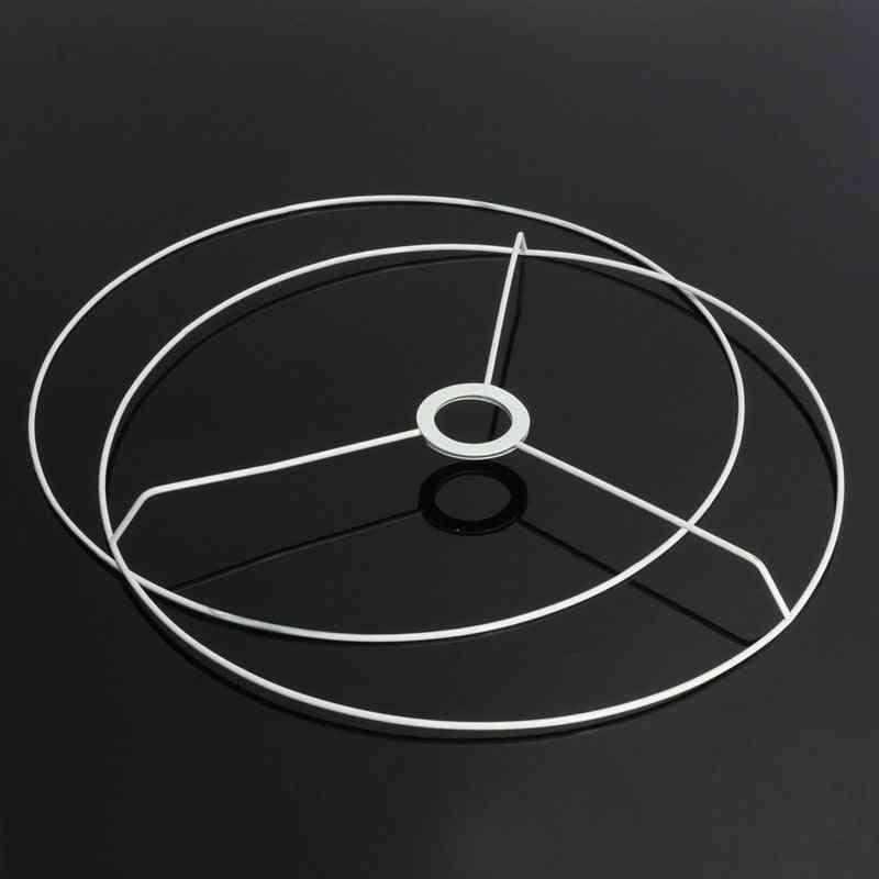 Circular Lampshade Frame, Ring Lamp Light