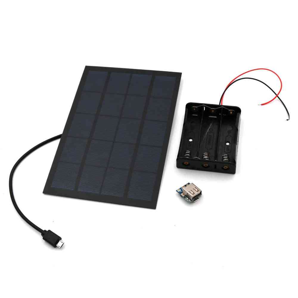 Solar Panel Power Bank -lithium Battery Charger Pcb Board