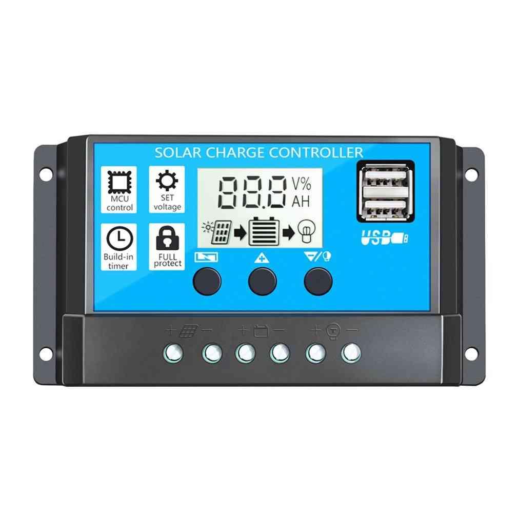 Lcd Display, Intelligent Solar Charge Controller Regulator