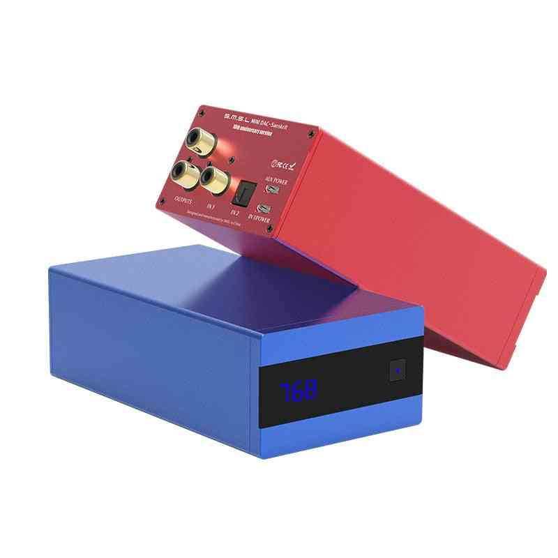 Hifi Audio Dac - Usb Ak4493 Xmos Optical Spdif Coaxial Input Desktop Decoder