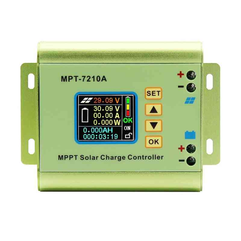 Aluminum Alloy Solar Panel Charge Controller With Lcd Display