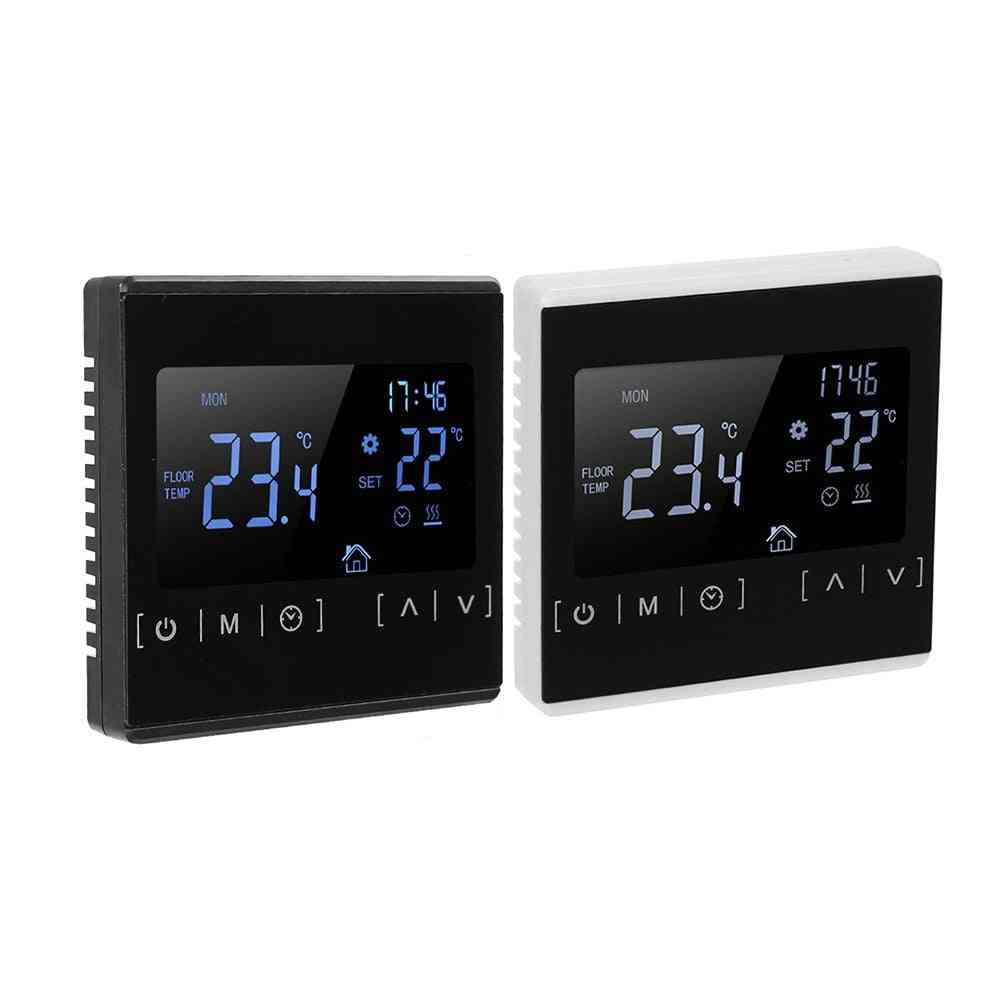 Lcd Touch Screen  Heating Thermostat Controller