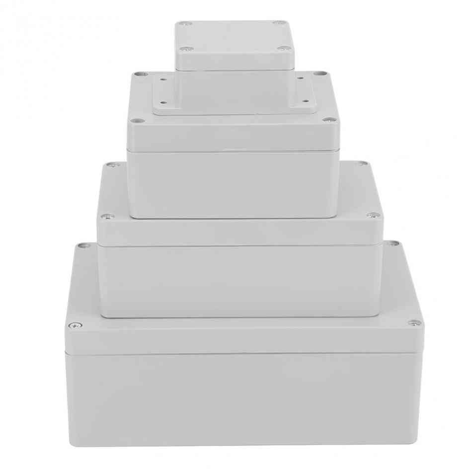 Waterproof Plastic Enclosure Box, For Electronic Projects
