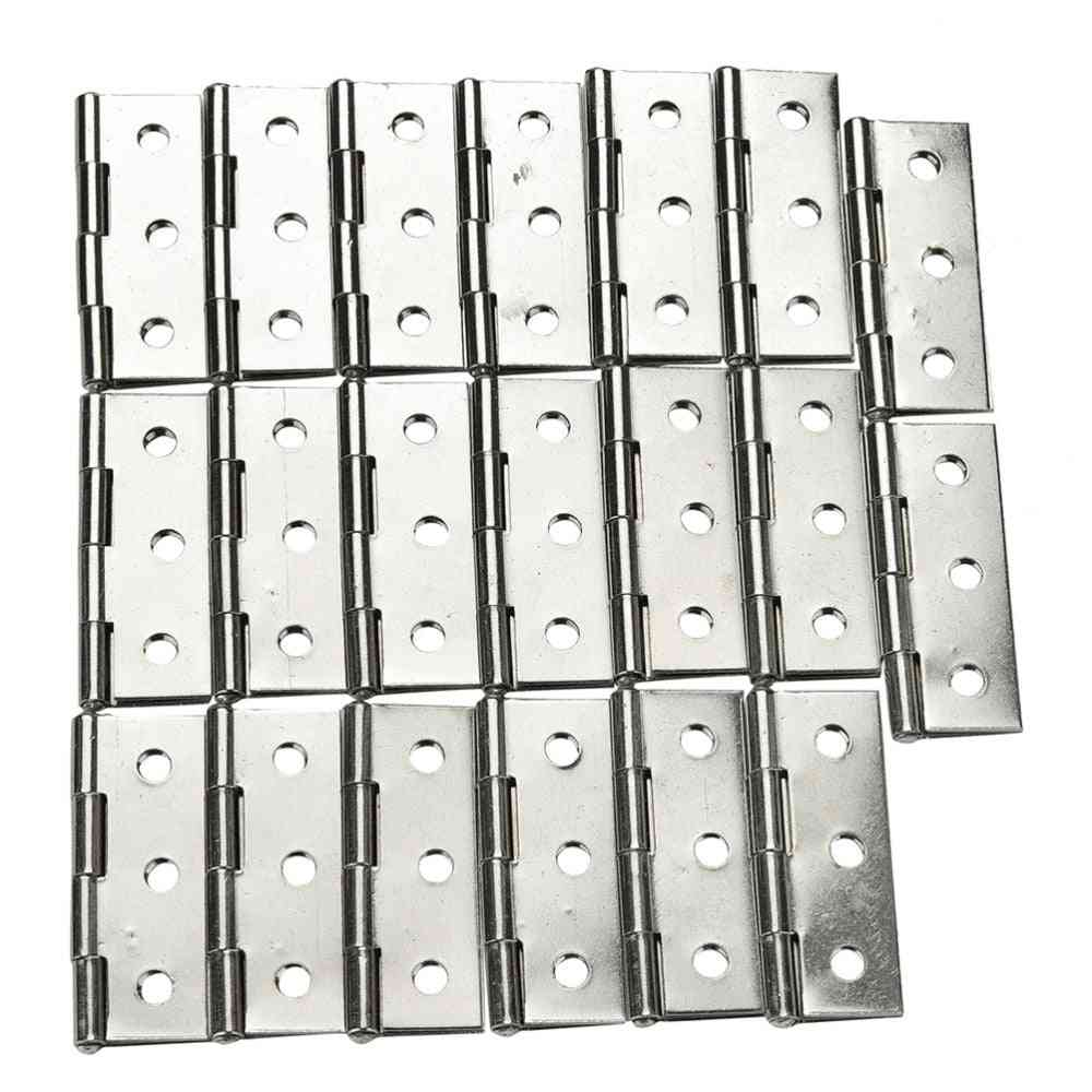 Stainless Steel 6 Mounting Holes Butt Hinges