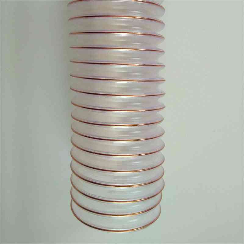Transparent Pu Tube, Dust Suction Vacuum Fume Exhaust Hose Pipe
