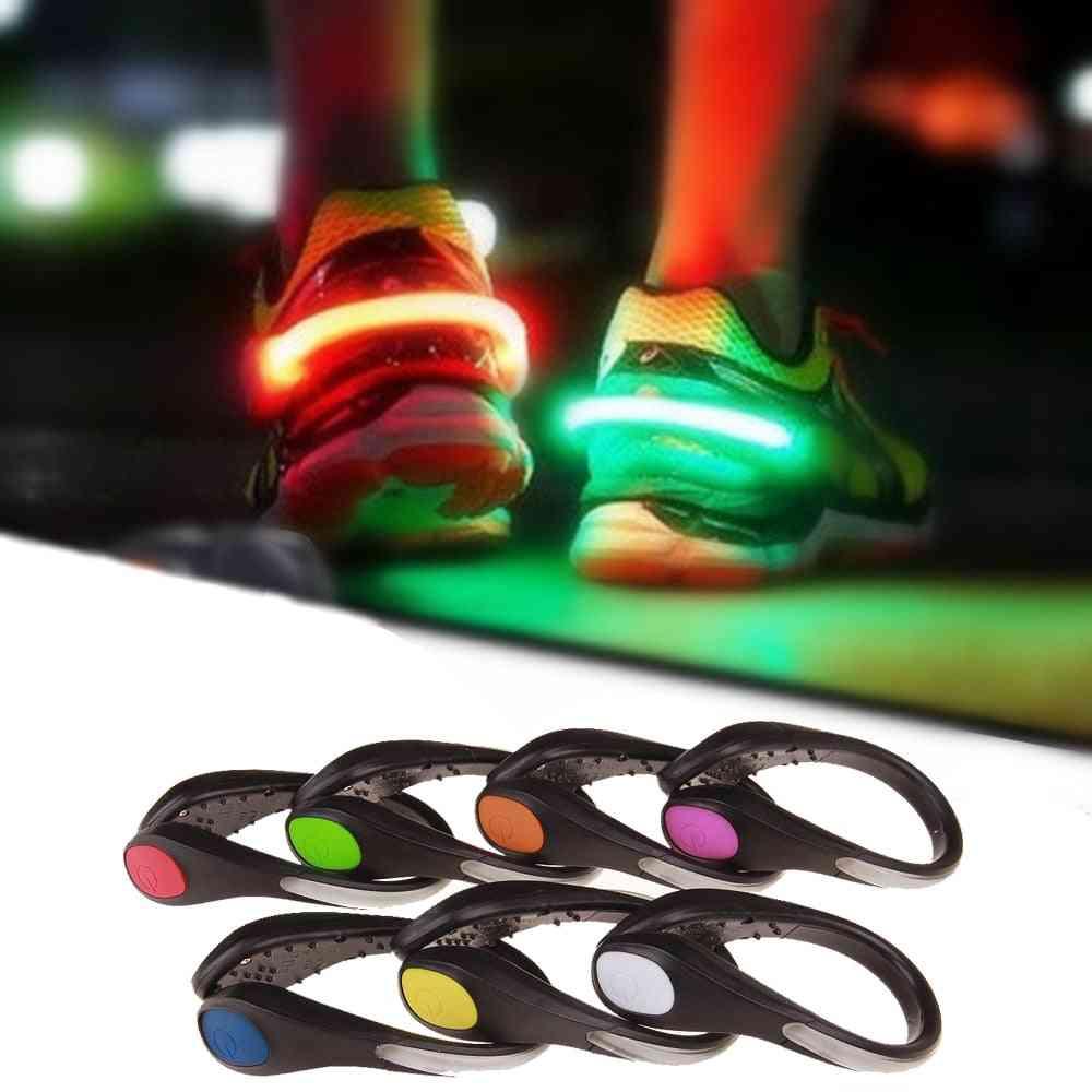 Shoe Clip, Night Safety Warning Led- Bright Flash Light