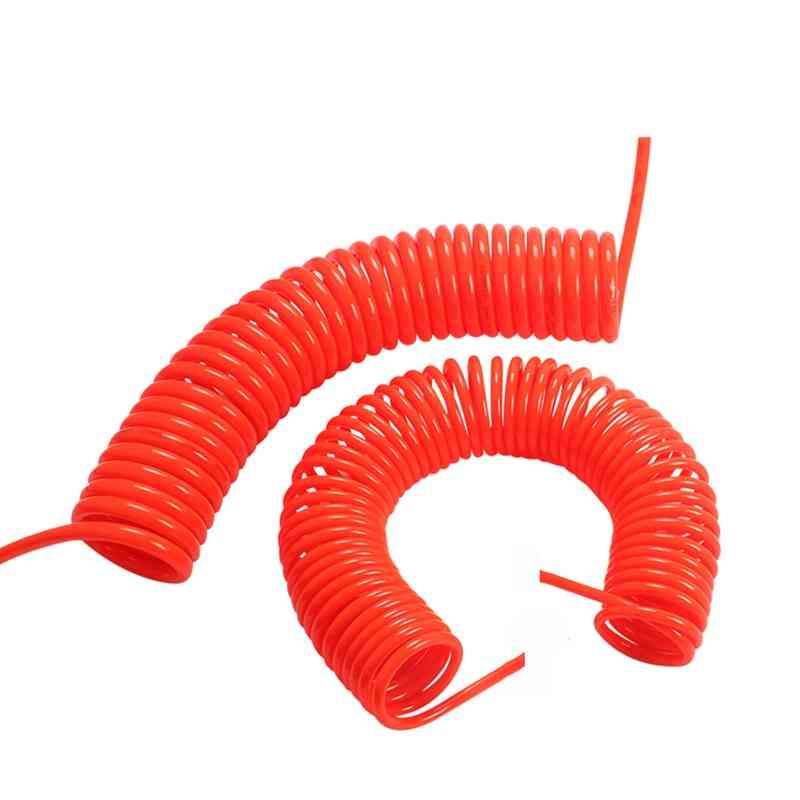 Pneumatic Pu Air Compressor Telescopic Spiral Hose Spring Tube