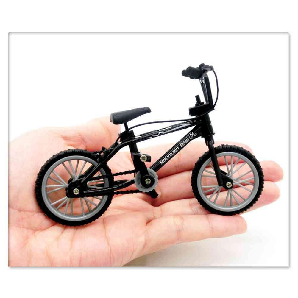 Retro Mini Finger, Assembly Bike - Bmx Bicycle Novelty Model Gag Toy