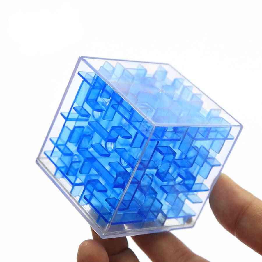 Patience Games 3d Cube Puzzle Maze Toy