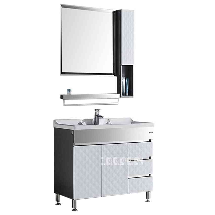Floor Type, Stainless Steel Marble Countertop Basin