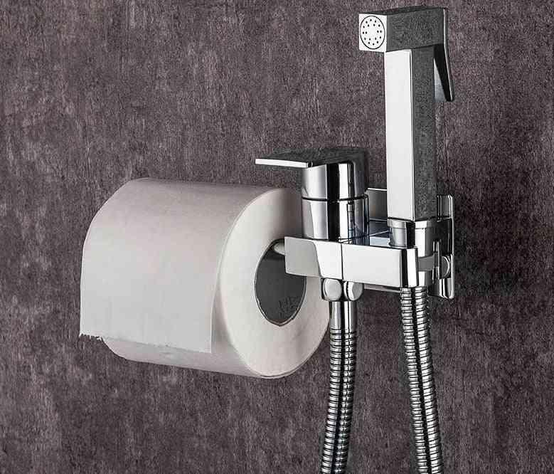 Bidet Faucet, Brass Shower Tap ,washer Mixer