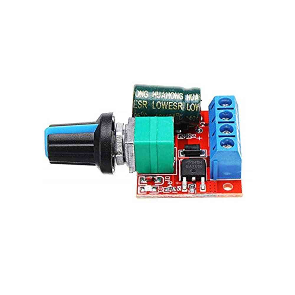 90w Pwm Motor Speed Controller Module With Potentiometer Switch