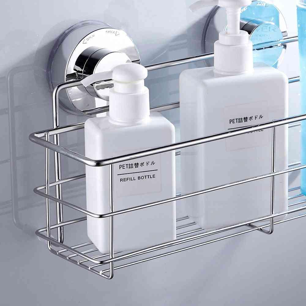 Wall Mount, Stainless Steel-bathroom Shower  Shelf