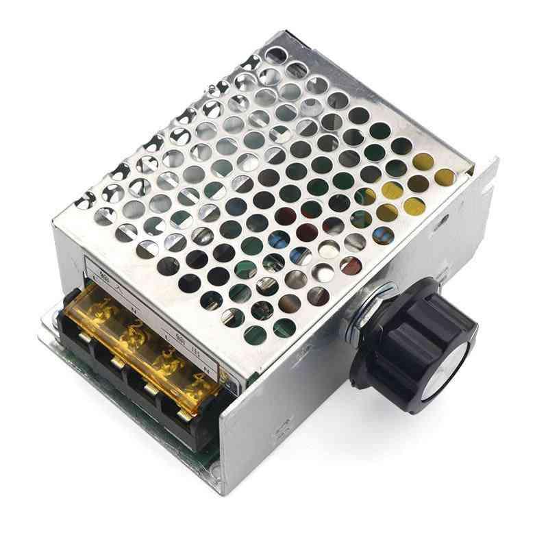 4000w,  220v Ac,  Scr Voltage Regulator / Motor Speed Controller Module