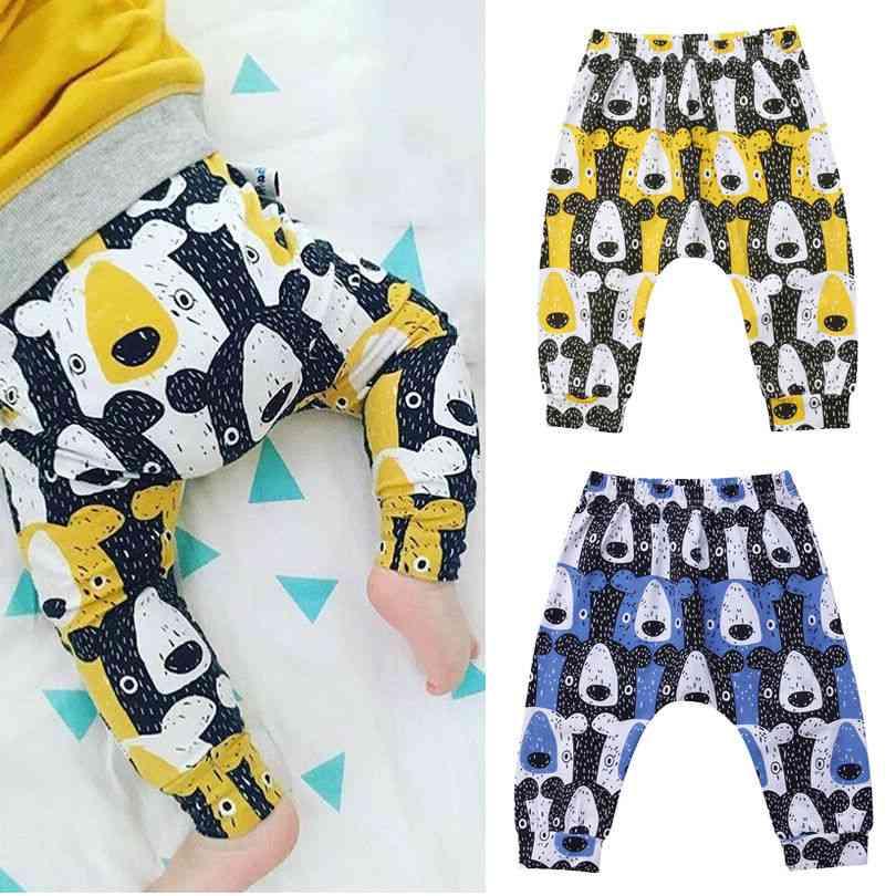 Newborn & Girl Clothes Bear Harem Pants