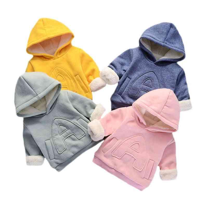 Girl & Clothes, Winter Thick Warm Sweatshirt