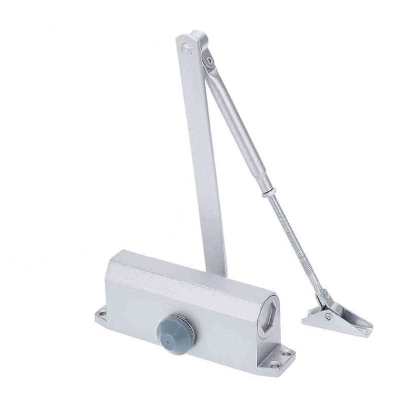 Adjustable, Automatic Door Closers- Security System