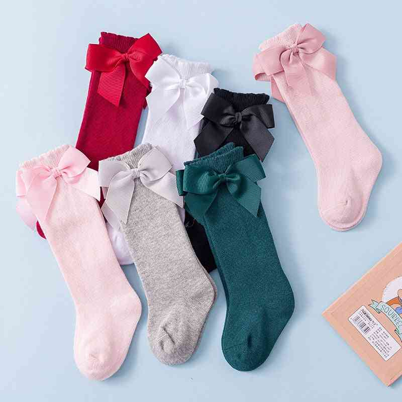 Newborn Socks - Big Bow Knee