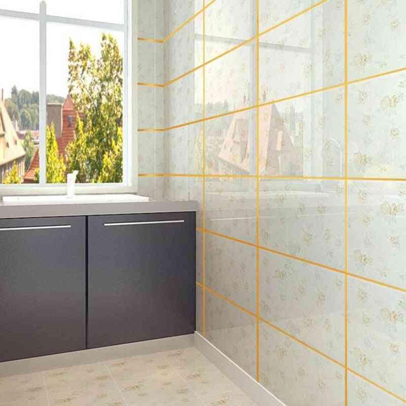 Self Adhesive Tile Sticker, Waterproof Wall Gap Sealing Tape