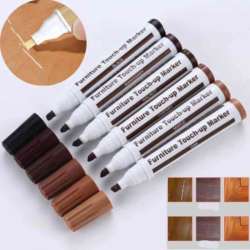 Furniture Touch Up Markers & Filler Sticks Wood Scratches Restore Kit Scratch Patch Paint Pen