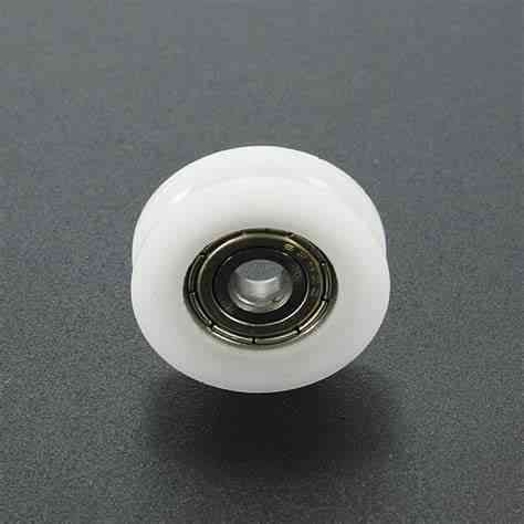 10pcs Nylon U-groove Roller With Built-in Micro Bearing