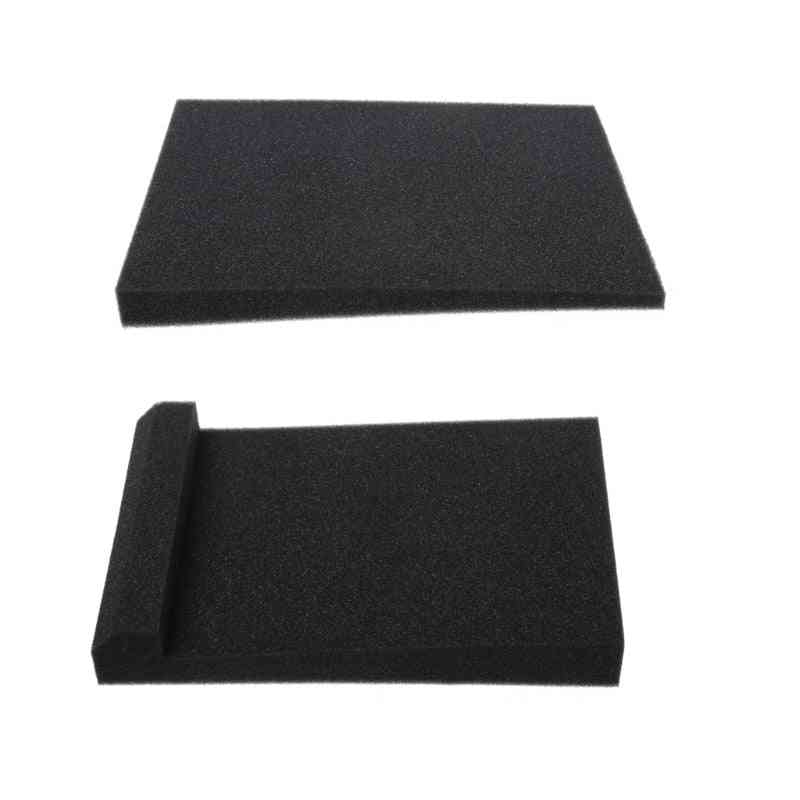 2pcs/set Sponge Studio Monitor Speaker - Acoustic Isolation Foam Pads