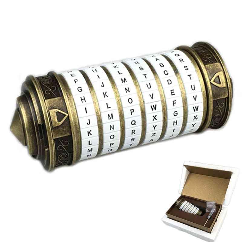 Metal Cryptex Locks - Creative Da Vinci Code