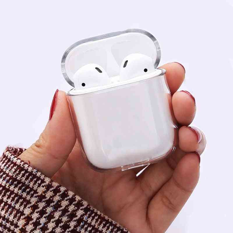 Transparent Wireless Earphone Charging Cover Bag