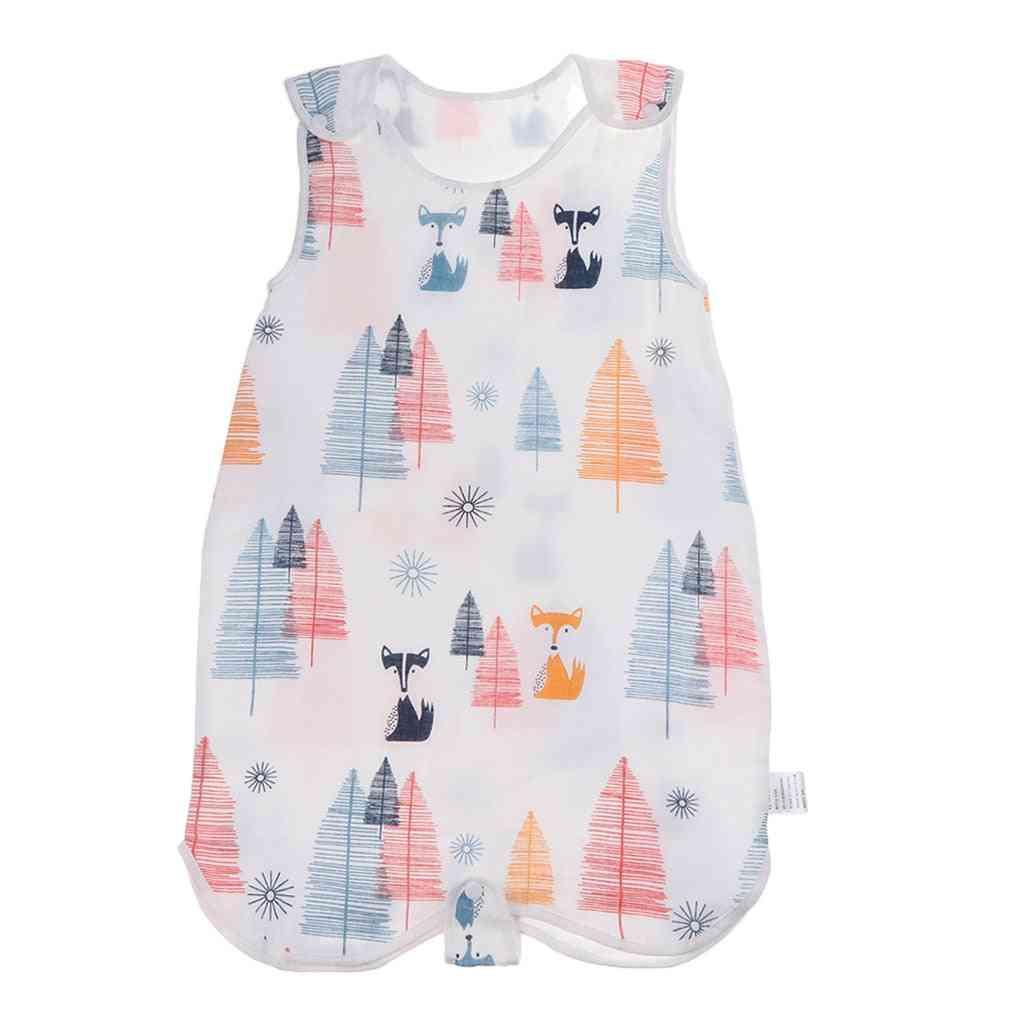 Baby Wearable Safe Muslin Blanket Summer Sleeping Bag