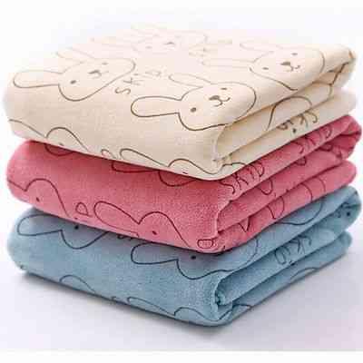 Soft Microfiber, Newborn Washcloth-bath Towel Feeding Cloth