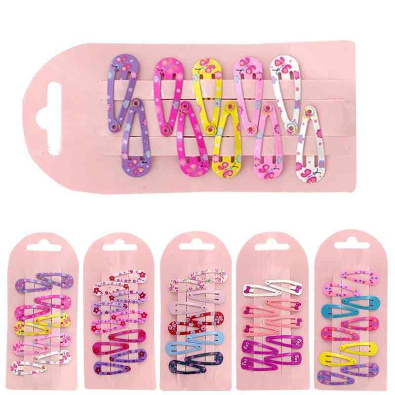 Colorful Bow Hairpins Barrettes -princess Headwear
