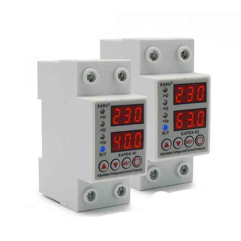 40a/ 63a , 230v Adjustable Voltage Protector
