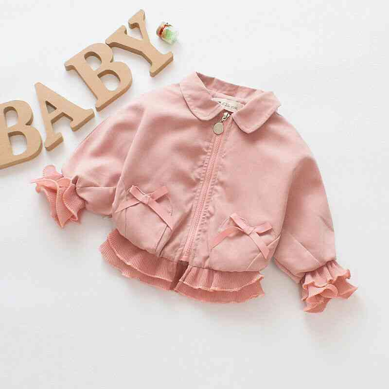 0-7y Outerwear Zipper, Autumn / Winter Jackets Clothes For Newborn