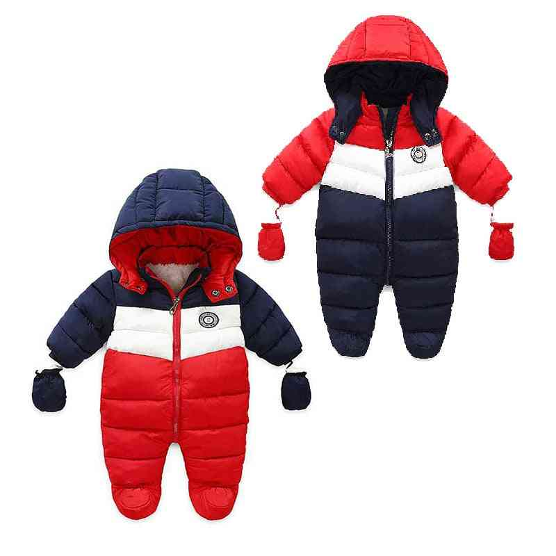 Winter Thick Long Sleeve Costume Coat Baby Clothes