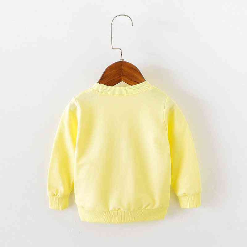 Love Pattern, Long Sleeve Tops, Autumn Clothing - Baby Sweat T-shirts