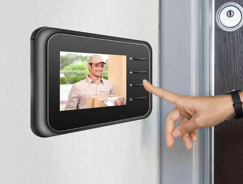 Smart Night Vision, Home Security Digital Viewer For Door