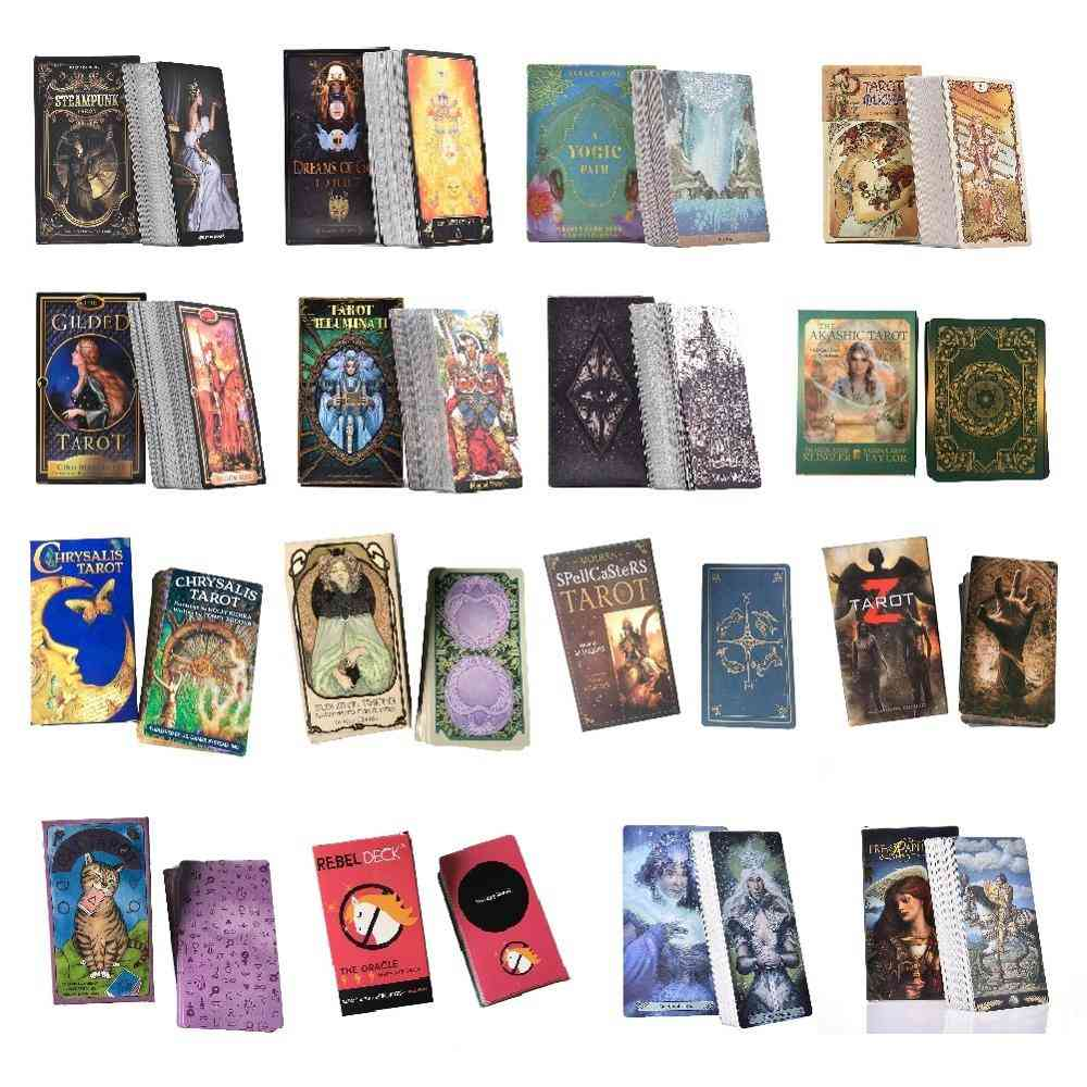 Oracle Guidance Divination Fate Tarot Deck Board Cards