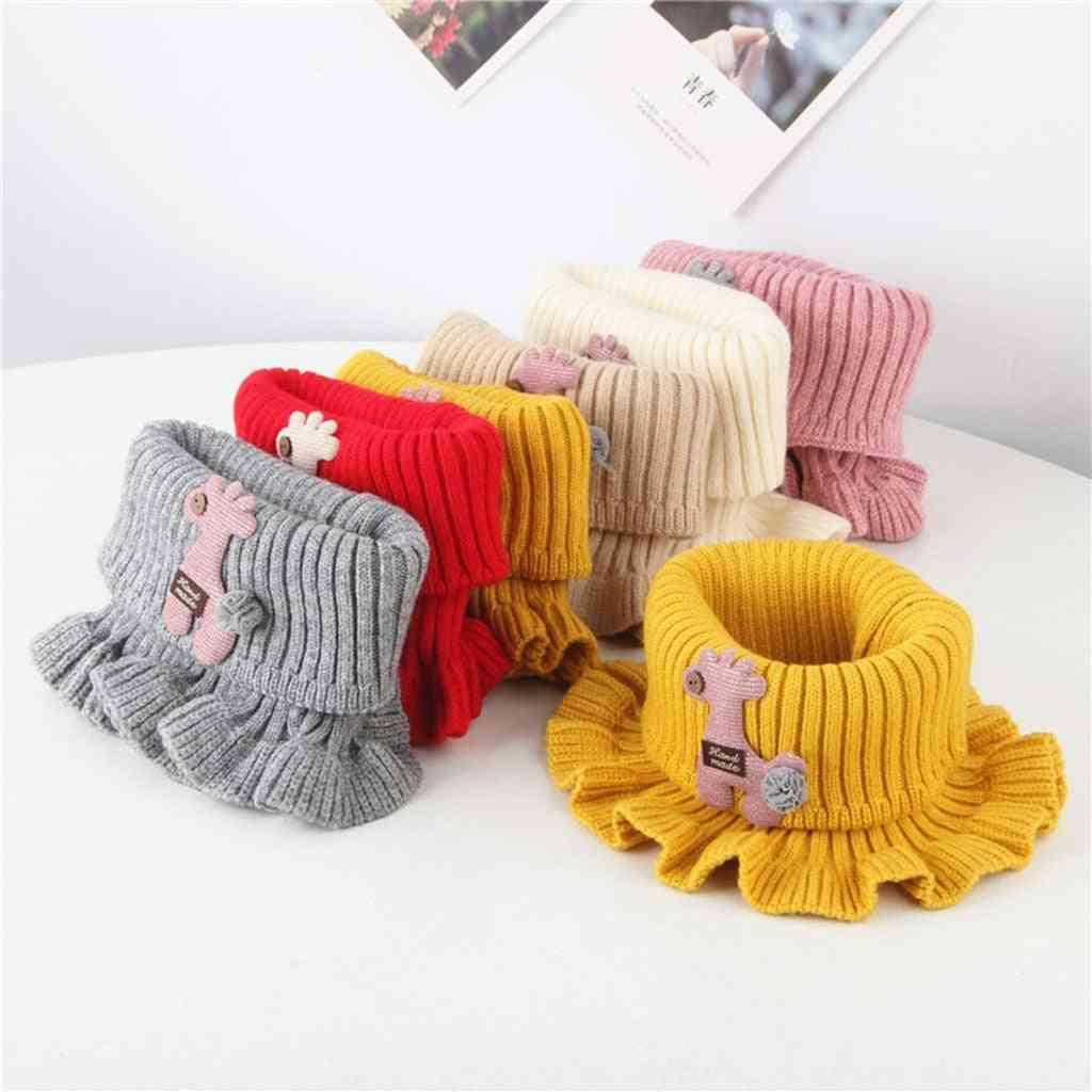 Elegant Design, Winter Warm Neck Scarf For Kids
