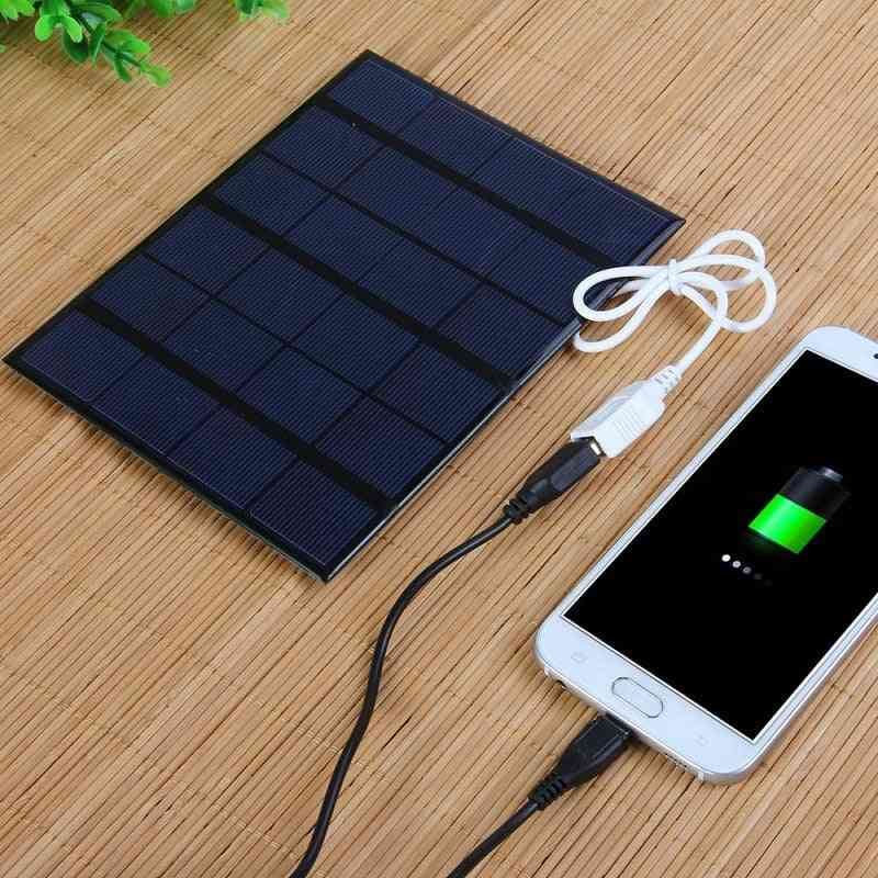 6v 3.5w Polycrystalline Flat Solar Pnaels For Digital Products Charging
