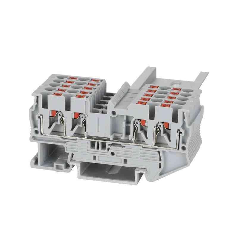 Pt 2.5-quattro 4 Push In Wire Connectors Terminal Block