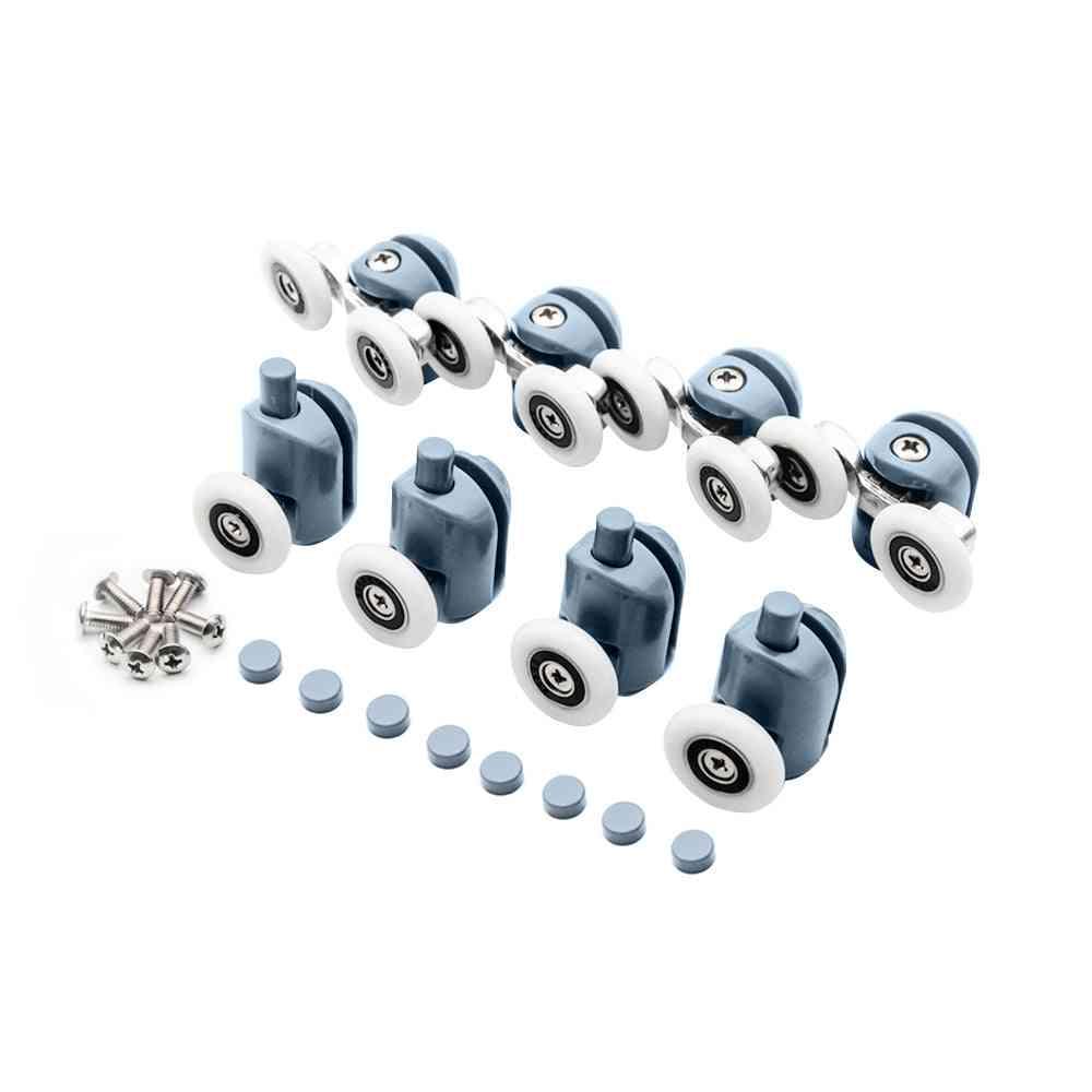 Double-top, Single-bottom-sliding Shower Door Pulleys/rollers