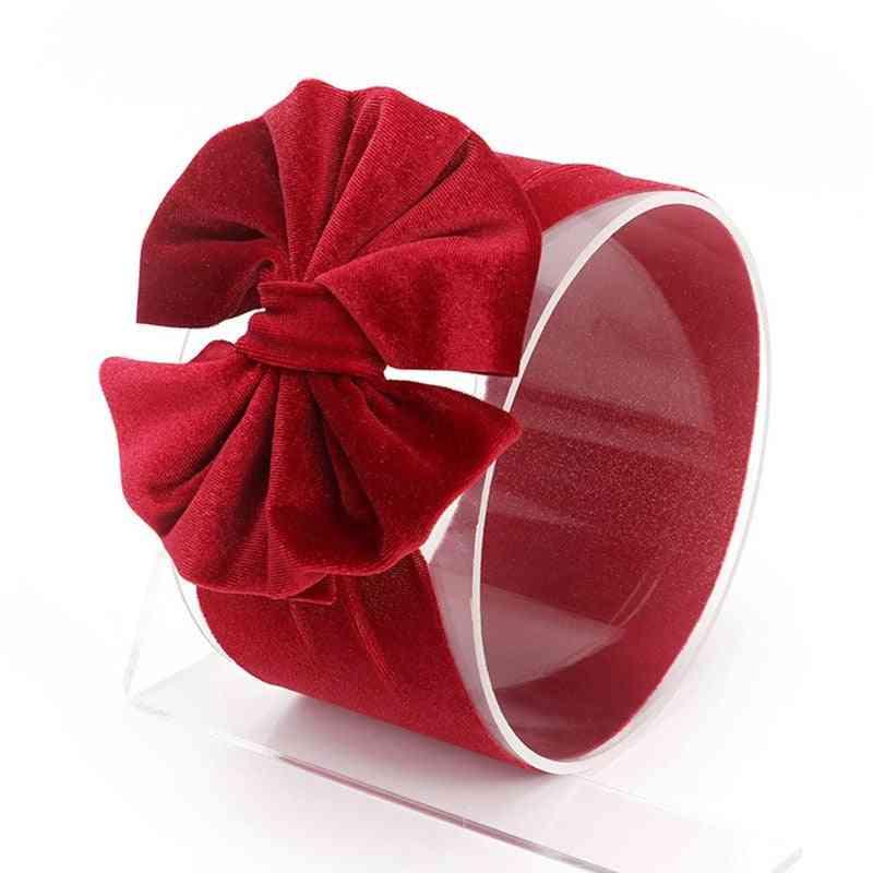 Girls Twist Knot Hair Band, Knit Cotton- Elastic Baby Girl Headbands Hair Accessories