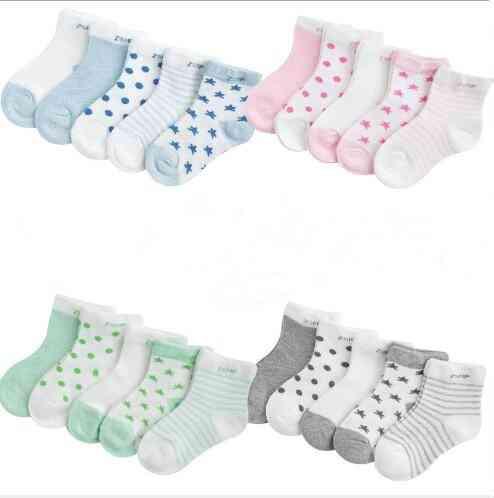 Children's Summer Mesh Ultra-thin Breathable Stars & Moon Baby Socks