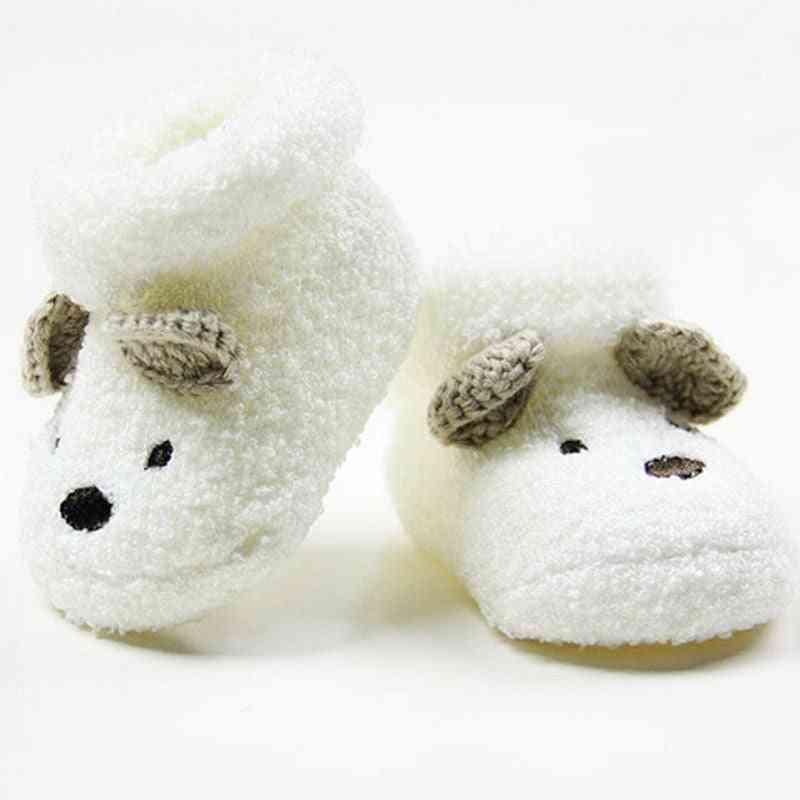 Cute Newborn Baby Socks - Warm Cartoon Animal Girl / Boy Infant Anti Slip Floor Sokken