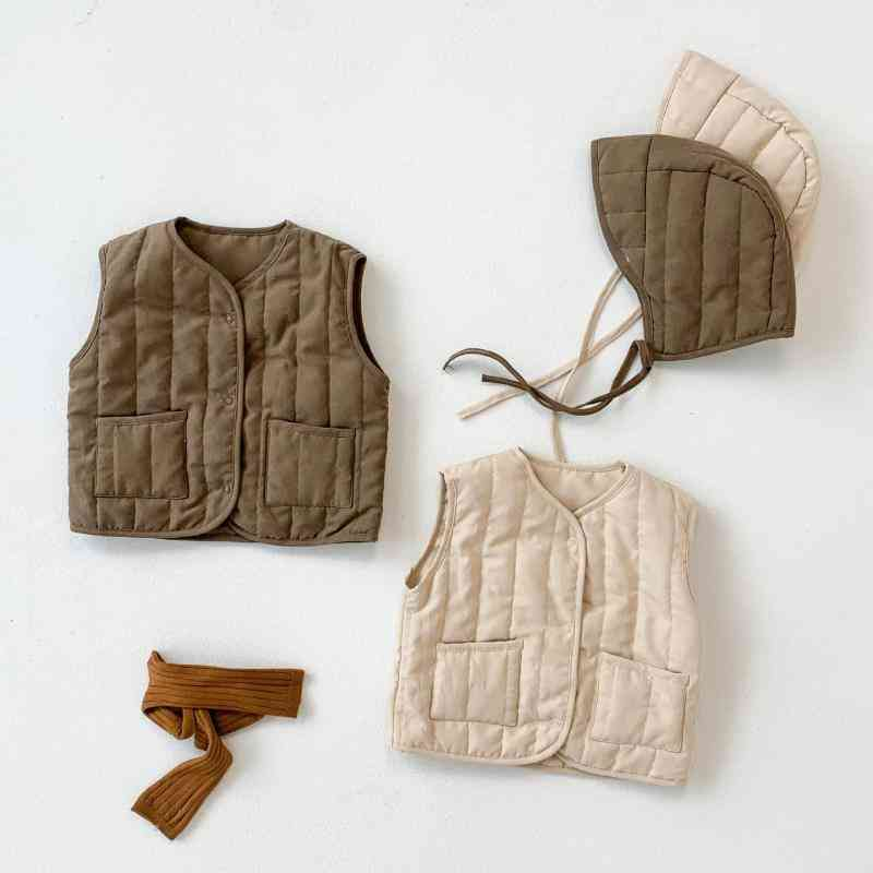 Winter Sleeveless Fashion Clothes For Baby &