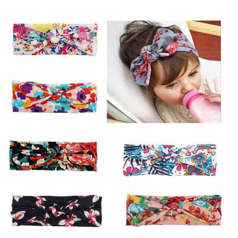Baby Girl Print Headband -infant Hair Accessories